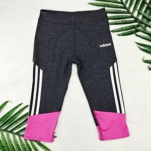 Adidas | Girl's Crop Legging, Like New!